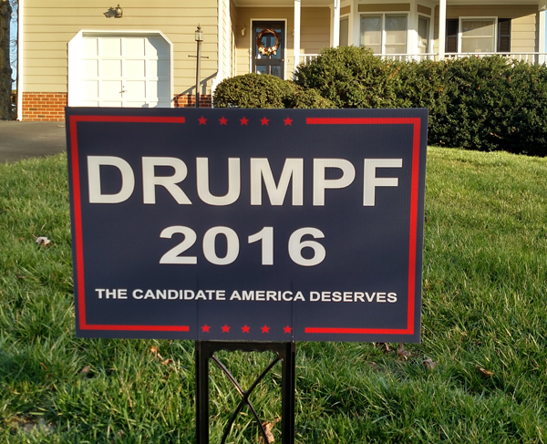 Drumpf 2016: The Candidate America Deserves