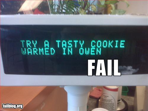 Try A Tasty Cookie Warmed In Owen